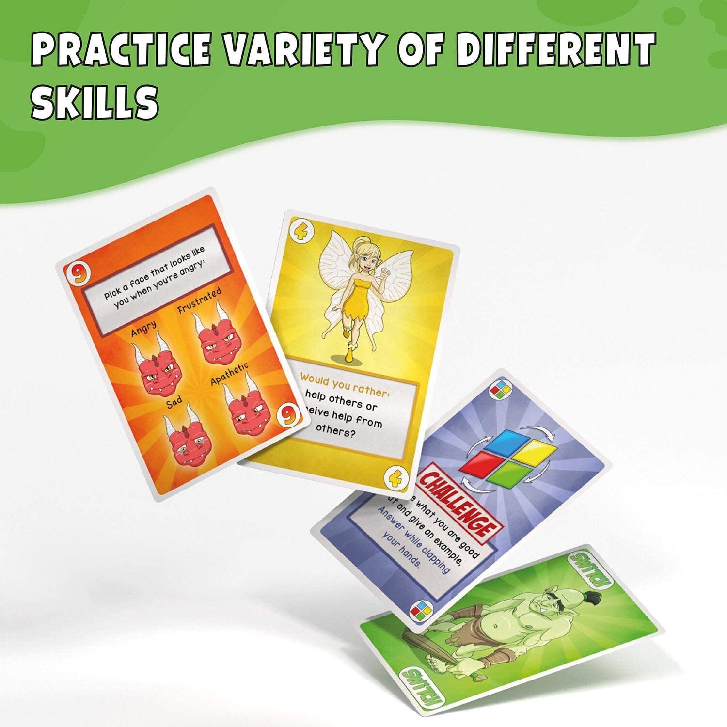 Togetherland Therapy Card Game for Kids - Develop Social Skills and Emotional Control - Perfect for Counselors Groups and Families - Helps with ADHD, Low Self-Esteem Impulse Anger Regulation and More