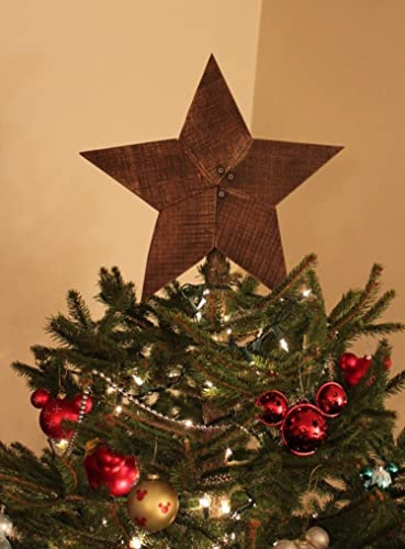 Christmas Tree Star Topper Rustic Reclaimed Wood Star Wooden Star Star Wall Art