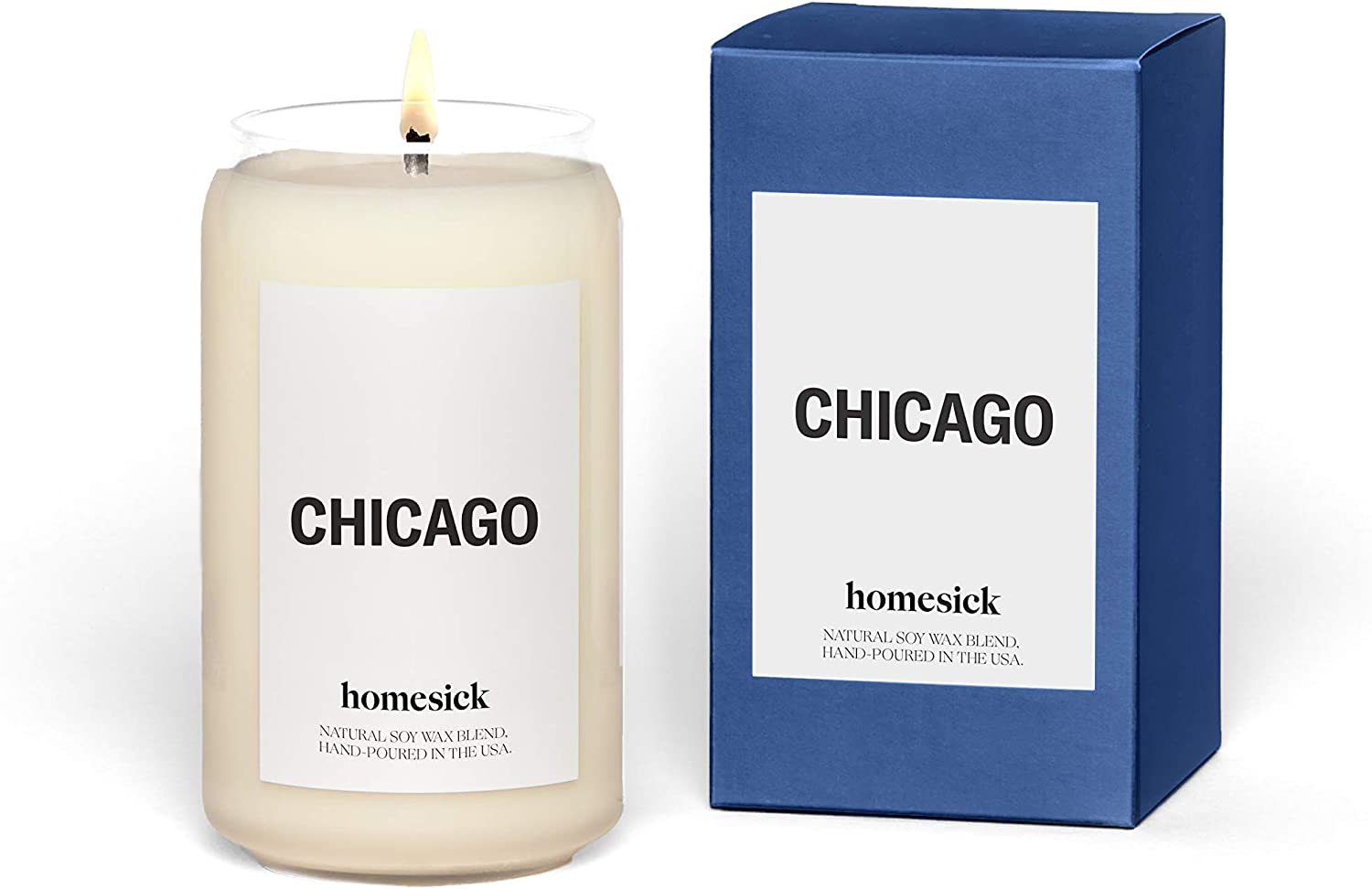 Homesick Scented Candle, Chicago (2020 Version)