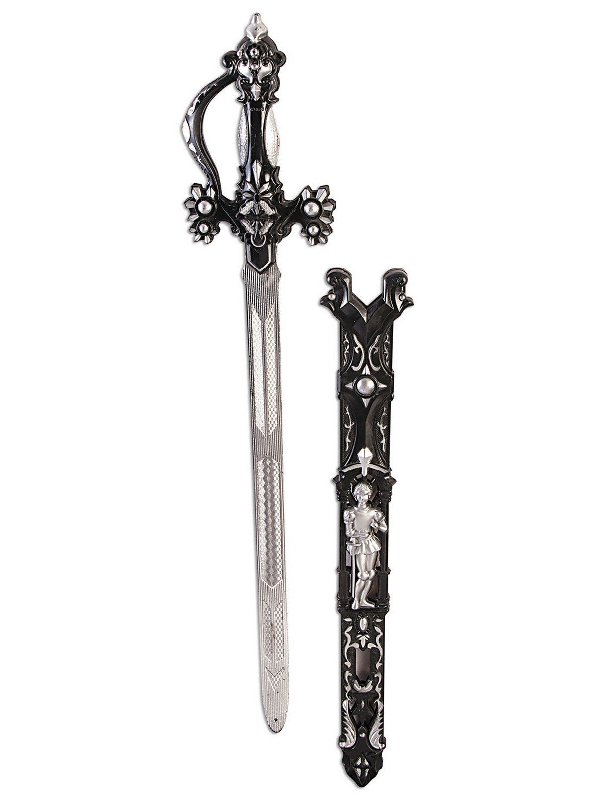 Forum Novelties Dark Royalty Sword, Black