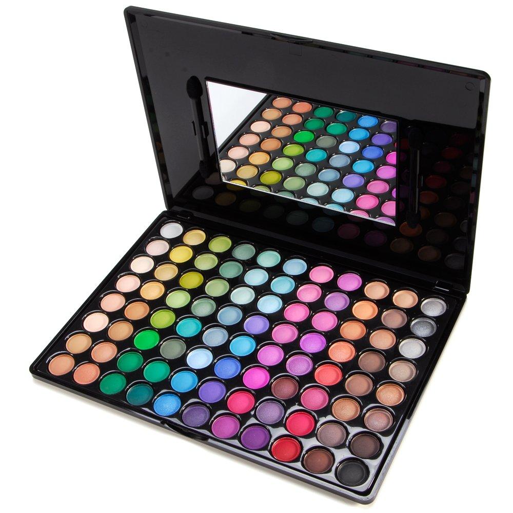 Accessotech 88 Color Paleta De Sombras De Ojo Kit Maquillaje Set Maquillaje Profesional Caja