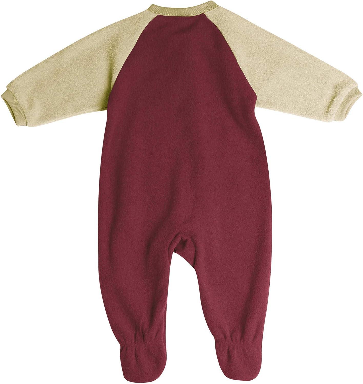Pro Edge Infants NCAA Florida State Seminoles Fleece Blanket Sleeper Footed Pajamas