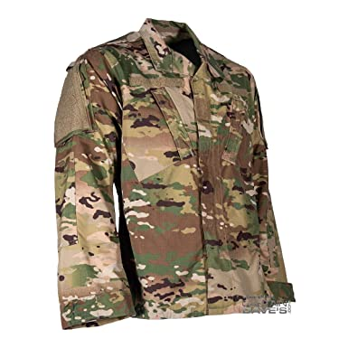 Amazon com: Army Combat Uniform ACU Military Shirt, Scorpion OCP
