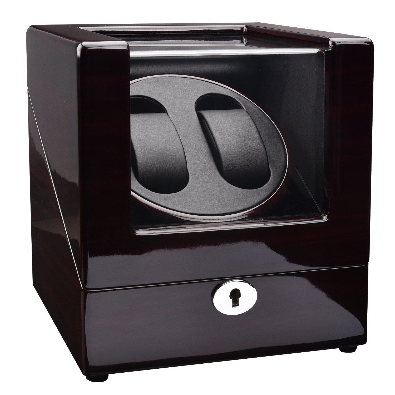 ZEIGER Automatik Uhrenbeweger 3 Modi 4 TPD Elegant Palisander 2 Uhr Automatik Uhren Beweger glÄnzend S005
