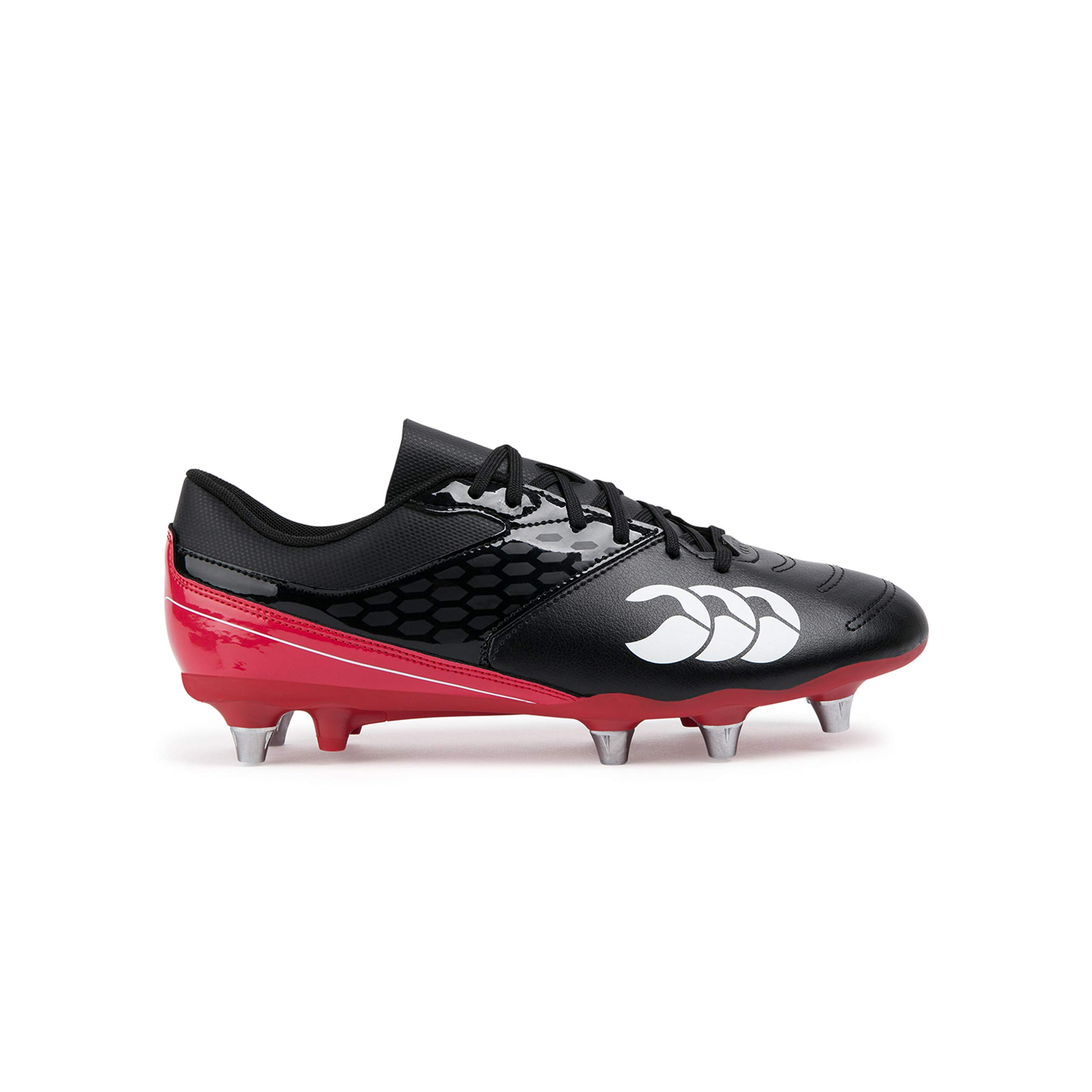 Canterbury Phoenix Raze Sg Rugby Boot Black/red by Canterbury