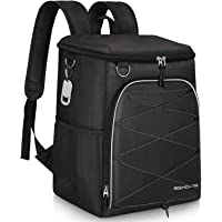 $34 » SEEHONOR Insulated Cooler Backpack 45 Cans Leakproof Soft Cooler Bag Lightweight Large…