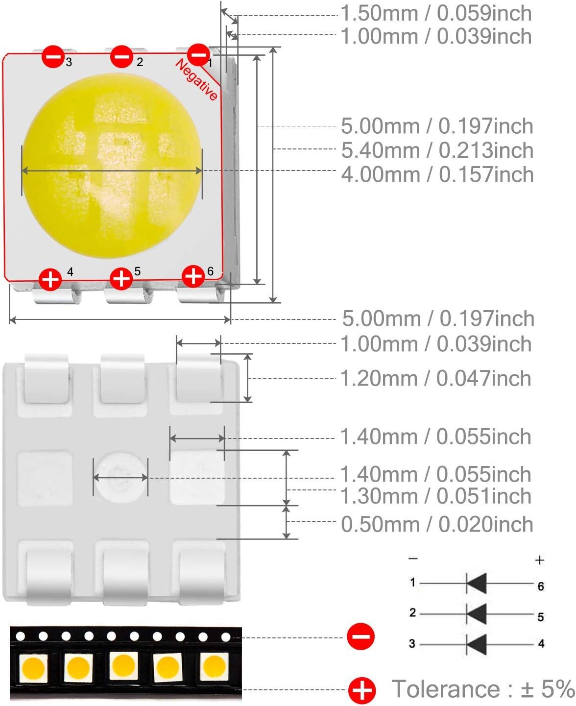 50 Blue SMD LEDs lbl293-n1 0603 LED Super Bright Belt Ware RoHS-no postage in D