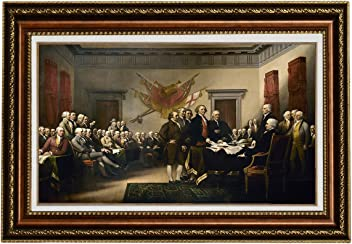 539d6dca86d Eliteart-The Declaration of Independence by John Trumbull Oil Painting  Reproduction Giclee Wall Art Canvas