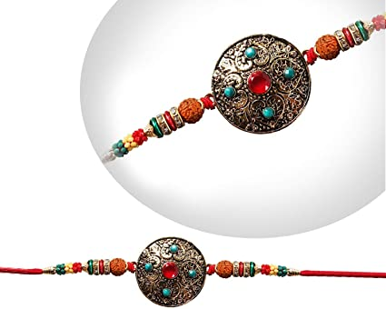 Amazon Com Storeindya Rakhi For Brother Thread Bracelet Raksha