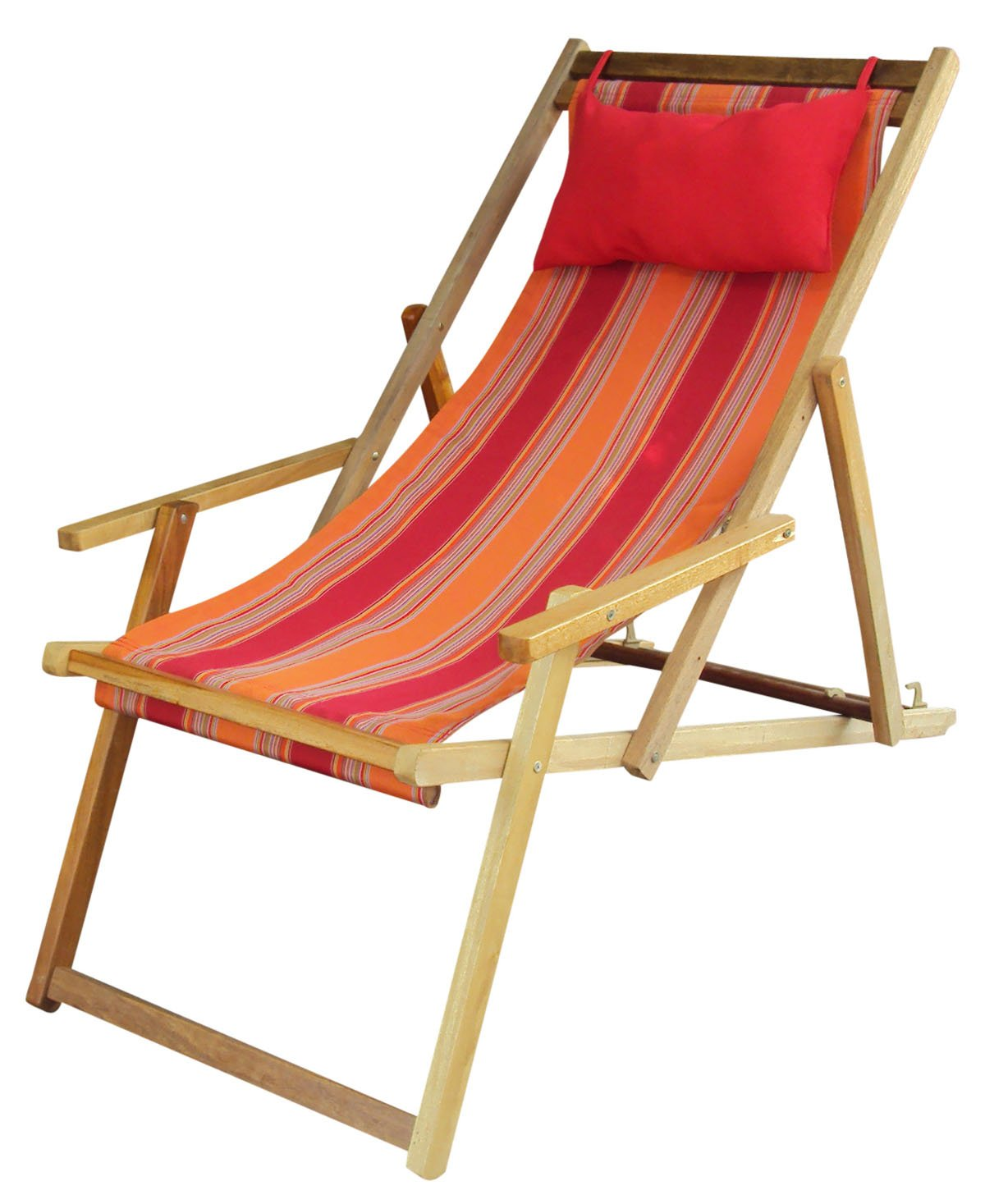 Hangit Portable Polyester Fabric Wooden Chair Furniture For Garden Living Room