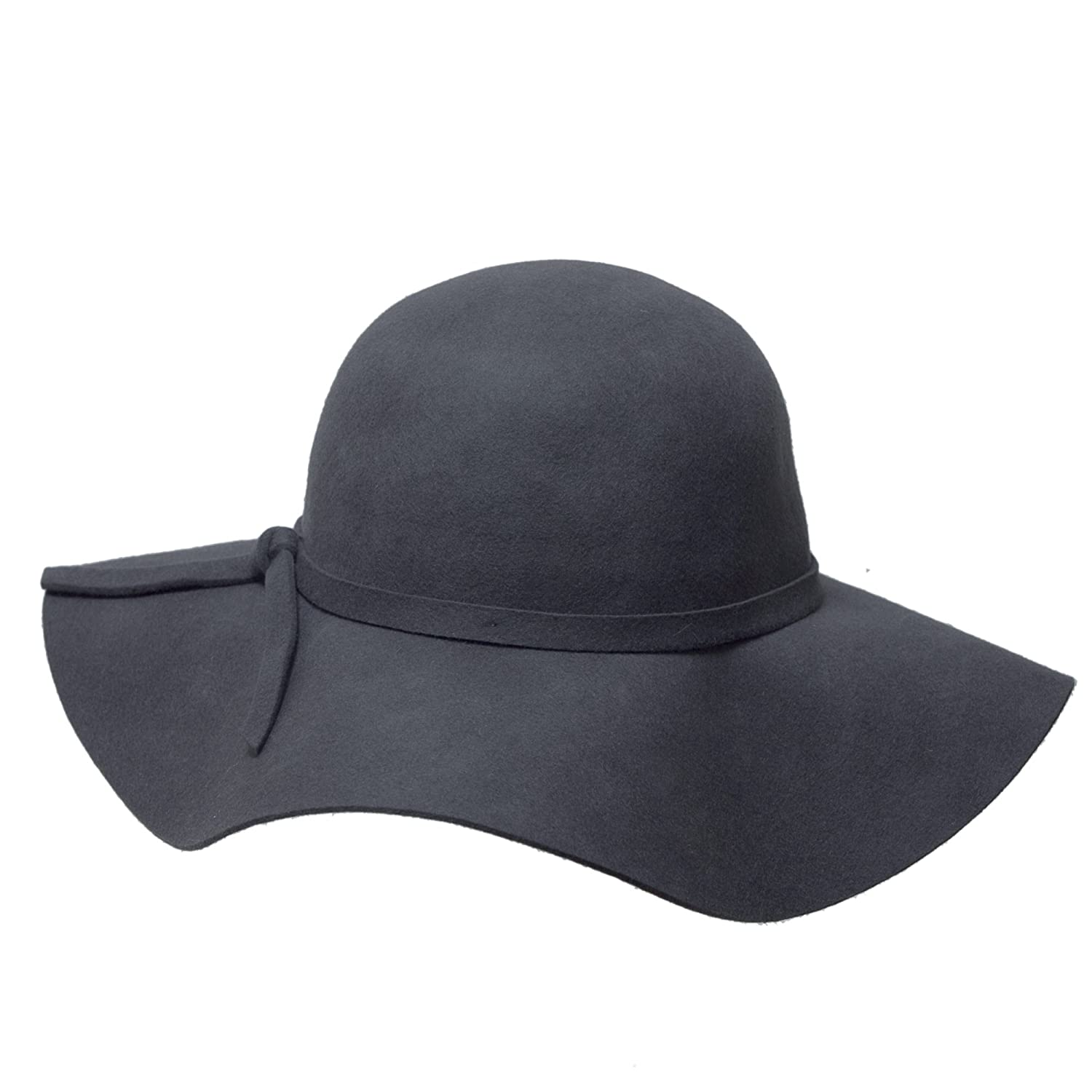 Women s Vintage Inspired Gray Wool Floppy Winter Hat at Amazon Women s  Clothing store  90a09e110cc2