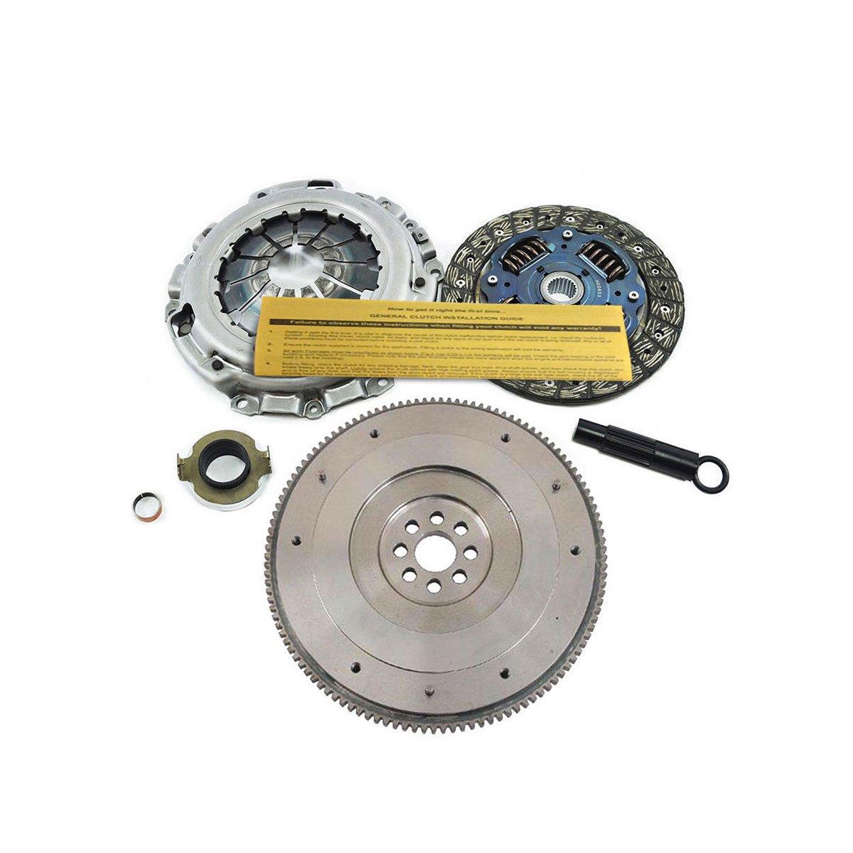 exedy Kit de embrague KHC10 & OE volante para 02 - 15 Acura RSX/Honda Civic Si K20 K24: Amazon.es: Coche y moto