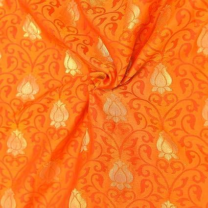 Amazon Com Shopolics Yellow Orange And Golden Floral Design Soft