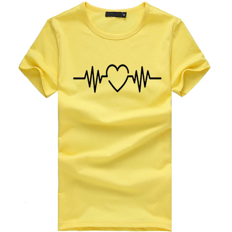 MALLOOM Women Plus Size Print Tees Short Sleeve T Shirt Blouse Tops Multicolor,S-3XL