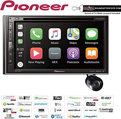 Pioneer AVH-2300NEX Apple CarPlay Android Auto Bluetooth Stereo w// Backup Camera