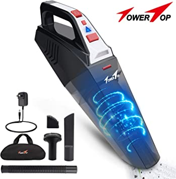 Portable Hand Vacuum Cleaner Cordless Wet/&Dry Dust Rechargeable Home Car   1@c