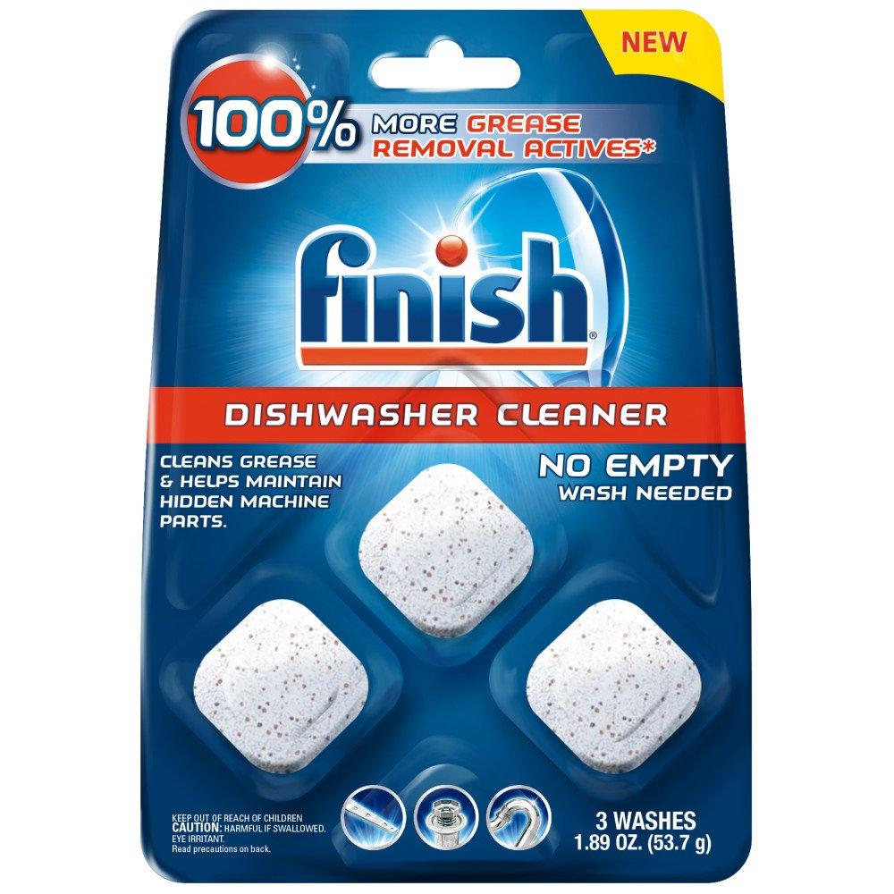 Finish in-Wash Dishwasher Cleaner: Clean Hidden Grease & Grime, 3ct Reckitt Benckiser B0759DX1L9