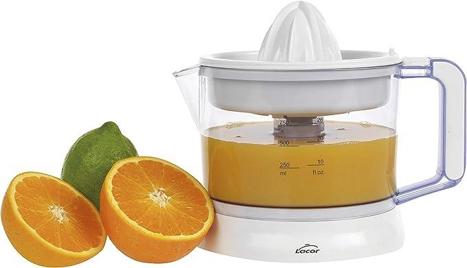 Lacor 69575 - Exprimidor de zumos ZITRUS con sistema de pulpa ...