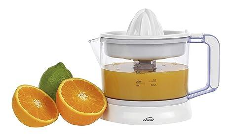 Lacor 69575 - Exprimidor de zumos ZITRUS con sistema de pulpa regulable, Libre de BPA