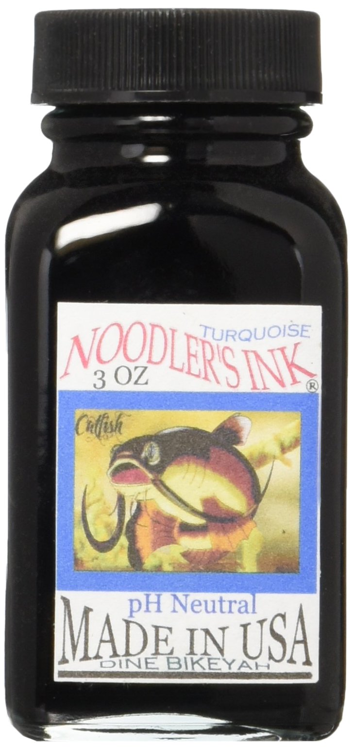 Noodlers Ink 3 Oz Turquoise