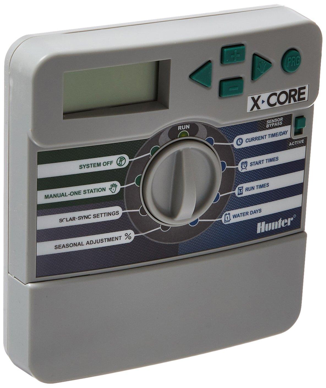 Amazon.com : Hunter Sprinkler XC800i X-Core 8-Station Indoor Irrigation  Timer XC-800i 8 Zone : Automatic Lawn Underground Sprinkler Systems :  Garden & ...