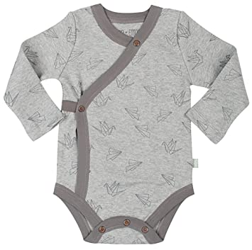 f8b4227d8bec Amazon.com  Finn + Emma Organic Cotton Long Sleeve Bodysuit for Baby ...