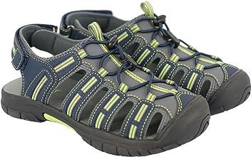 Khombu Boys Kids Closed Toe Sandal Shoe