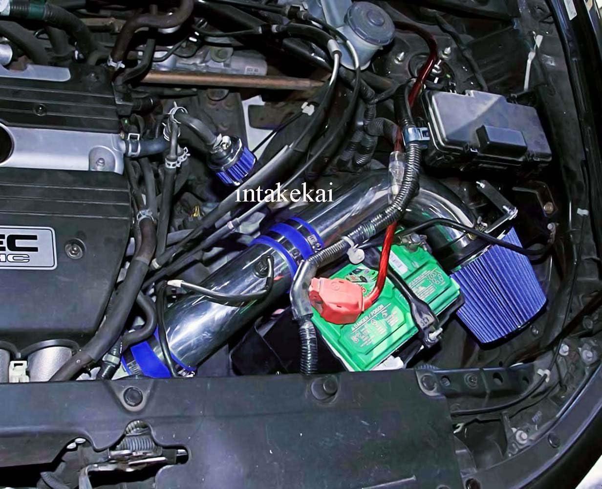 BLUE Performance Air Intake for 2003 2004 2005 HONDA ELEMENT DX LX EX 2.4L L4 ENGINE