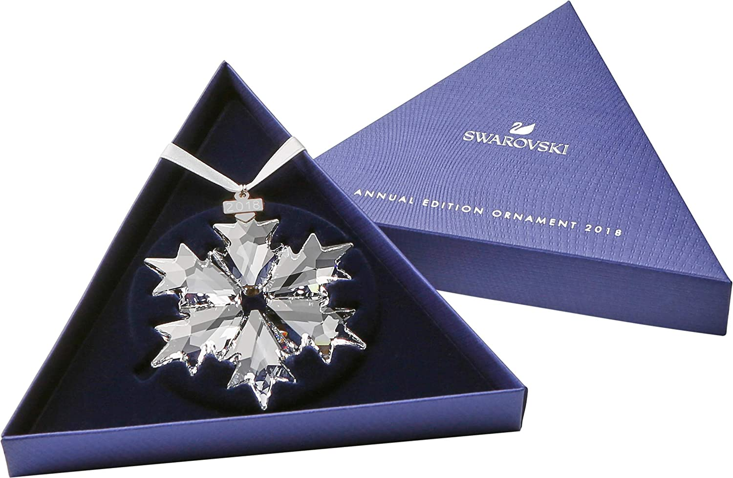 9343ab9553be8 Swarovski Little Snowflake Ornament, Small, Clear Crystal