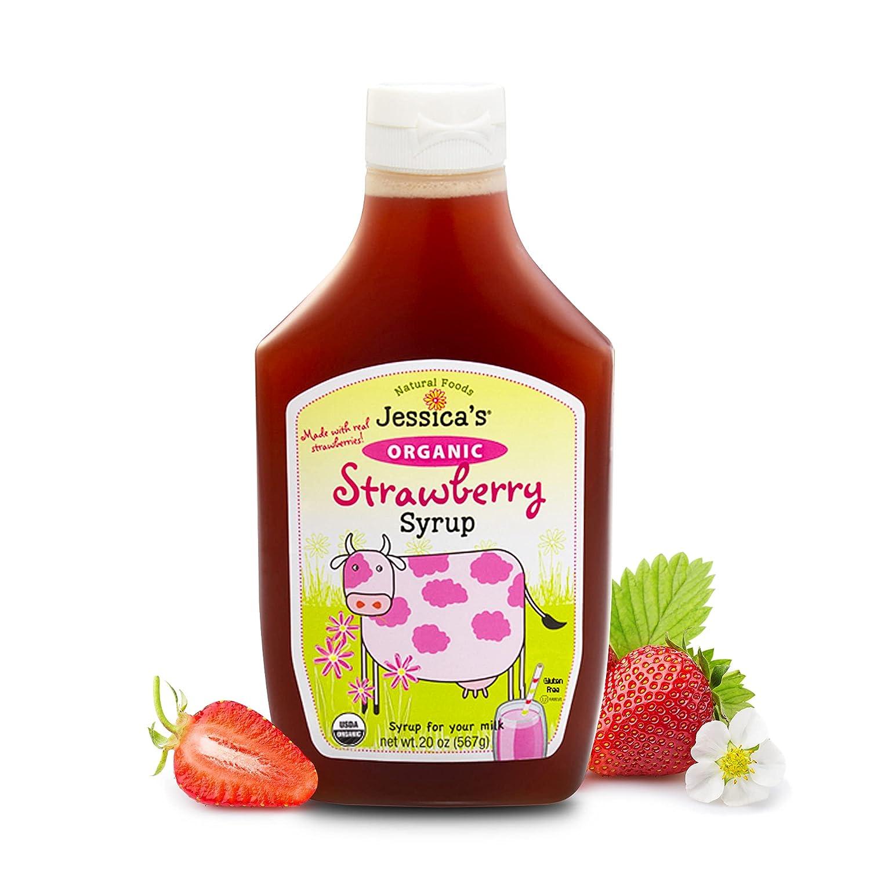 Organic Strawberry Syrup