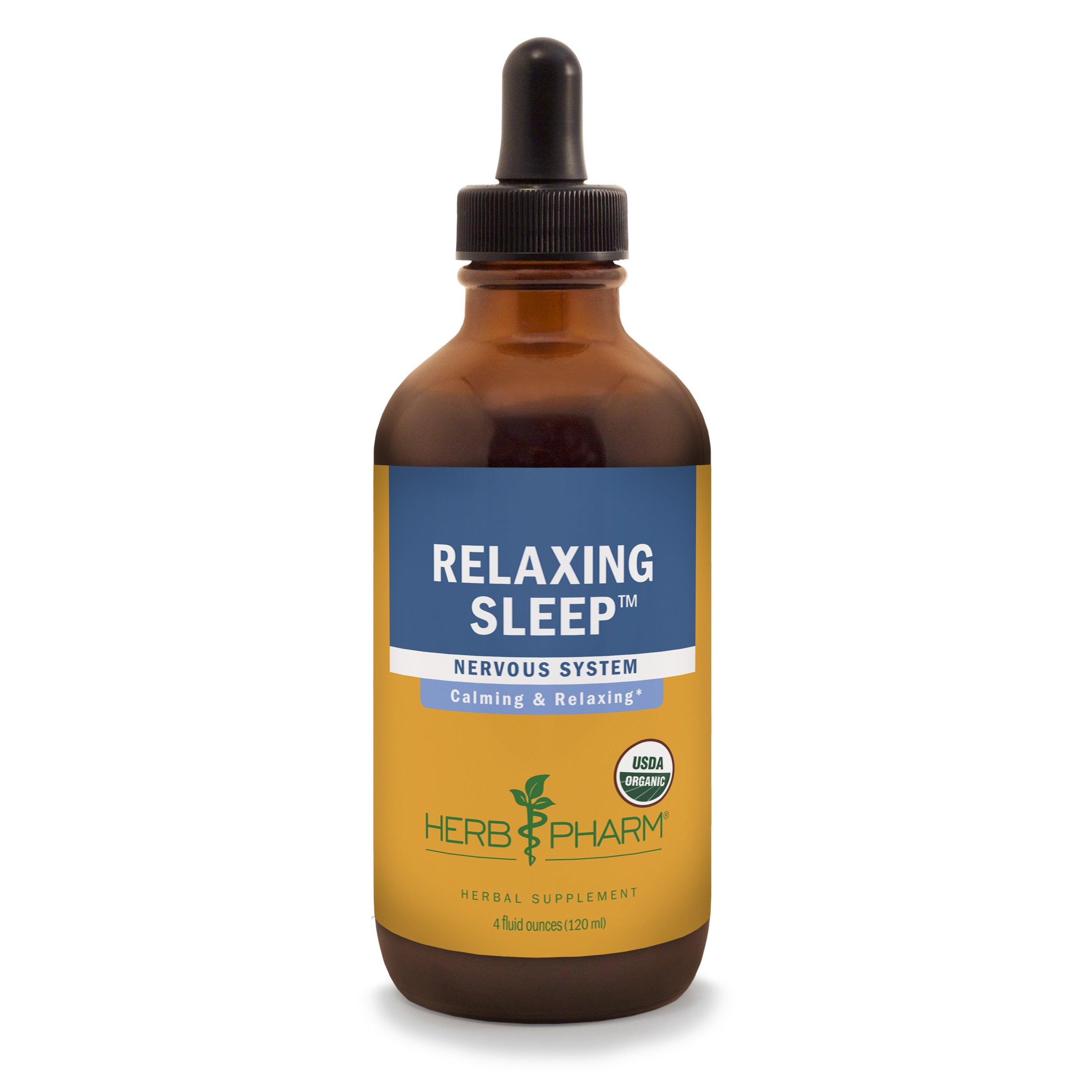 Herb Pharm Relaxing Sleep Herbal Formula with Valerian Liquid Extract - 4 Ounce by Herb Pharm (Image #1)
