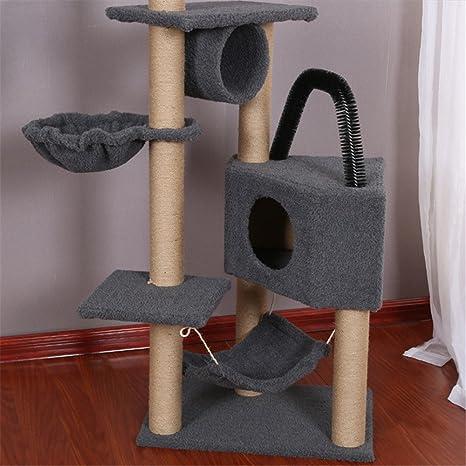 Guohailang Escalada Gato Torre Artículos for Mascotas Una ...