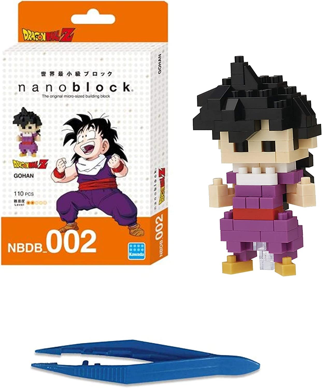 NEW NANOBLOCK DRAGONBALL Z GOHAN Nano Block Micro-Sized Building Blocks NBDB-002