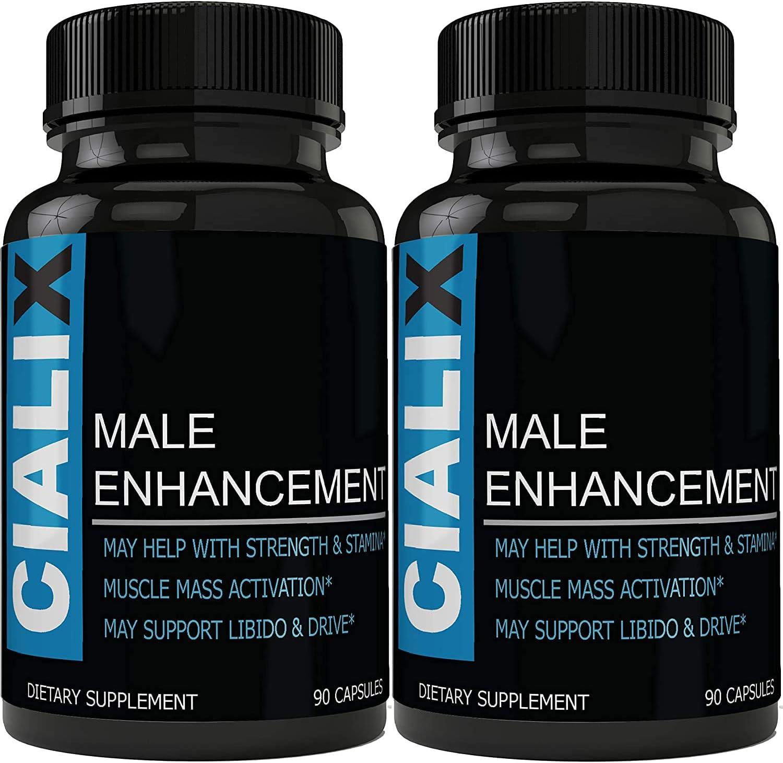 Amazon.com: Cialix Male Support Supplement - Cialix Pills for Men (90 Caps  Each - 2 Bottles): Health & Personal Care