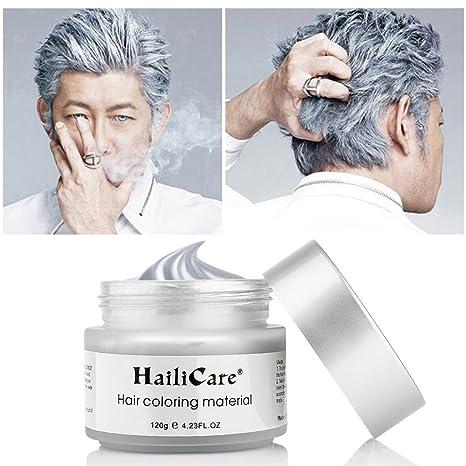 Couleur temporaire cheveux gris