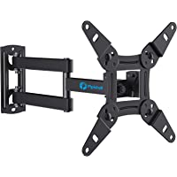 Full Motion TV Monitor Wall Mount Bracket Articulating Arms Swivels Tilts Extension Rotation for Most 13-42 Inch LED LCD…
