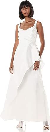 Adrianna Papell Womens Mikado Long Dress Sleeveless Formal Night Out Dress