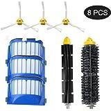 Forrat Kit Accessori di Ricambi Sostituzione Per iRobot Roomba 500 520 551 530 550 560 Serie - 8 Pezzi
