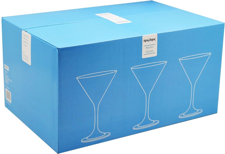 /Colore Retail Box regalo/ /Altezza 16/cm Bicchieri da cocktail Martini/ /Capacit/à 200/ML//7/Once/ /Box 6/