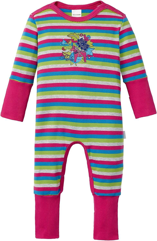 Schiesser Baby Girls Anzug Vario Fu/ß Pyjama Sets