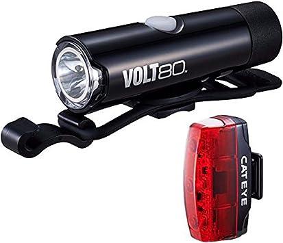 Cateye – Volt 80 XC batería Bicicleta luz y rápida Micro luz Trasera: Amazon.es: Deportes y aire libre