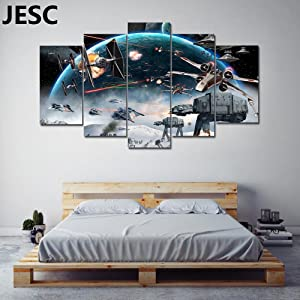 JESC Large Size Movie Painting Print on Canvas Art for Living Room Decor Wall Art Painting for Kids Home Decor Framed Ready to Hang (I) …