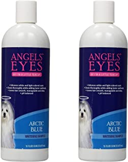 product image for Angel's Eyes Whitening Pet Shampoo, 16-Ounce, Arctic Blue