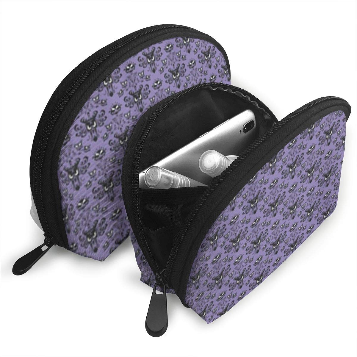 0a0122d07322 Amazon.com: JDISJLJ Cosmetic Travel Bag Haunted Mansion Shell ...