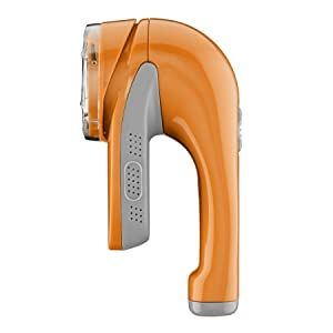 Conair Fabric Defuzzer - Shaver; Battery Operated; Orange (packaging may vary)