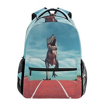 TIZORAX A Dinosaur - Mochila de Viaje, diseño de Dinosaurio: Amazon.es: Deportes y aire libre
