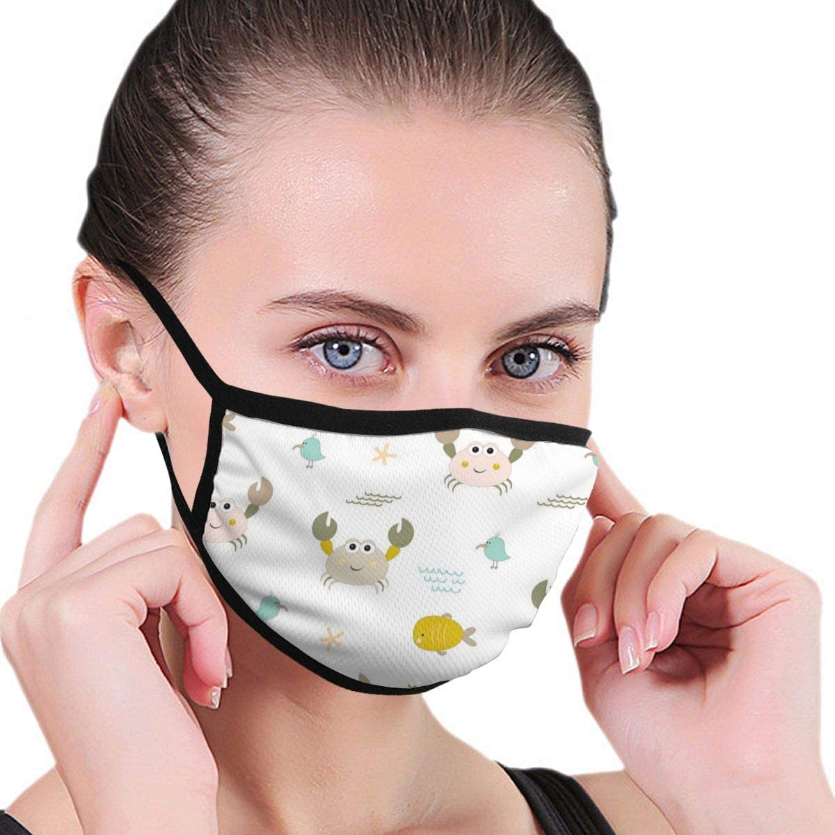 N/R mascarillas de algodón de Colores, Lavable y Reutilizable para Hombres, Mujeres, niños y niñas, Personalizadas