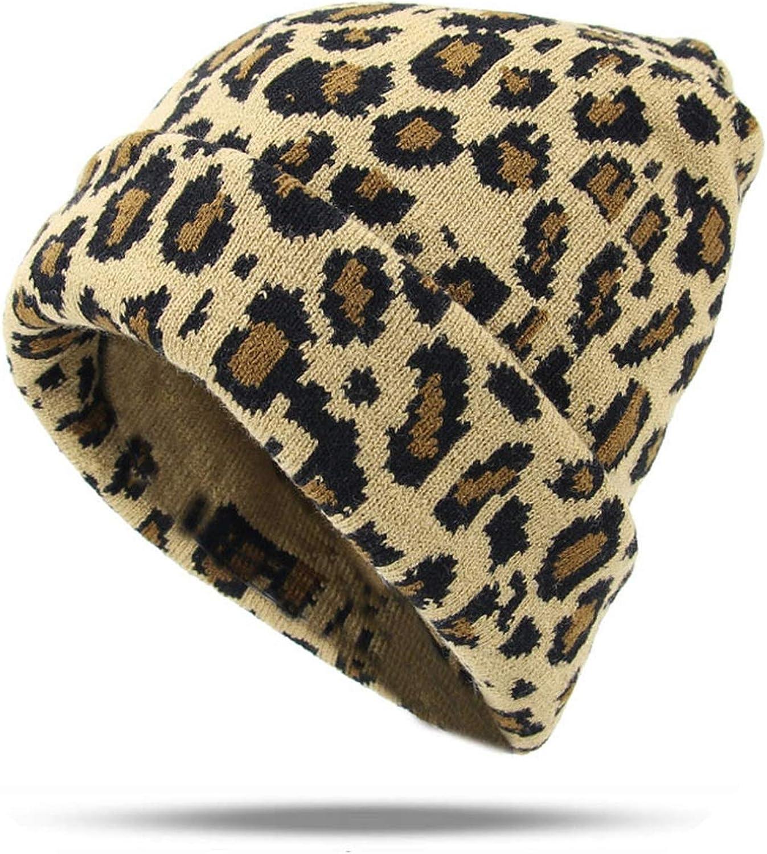 Hat Women Leopard Print...