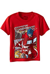 Transformers Boys' Short Sleeve Tee Shirts