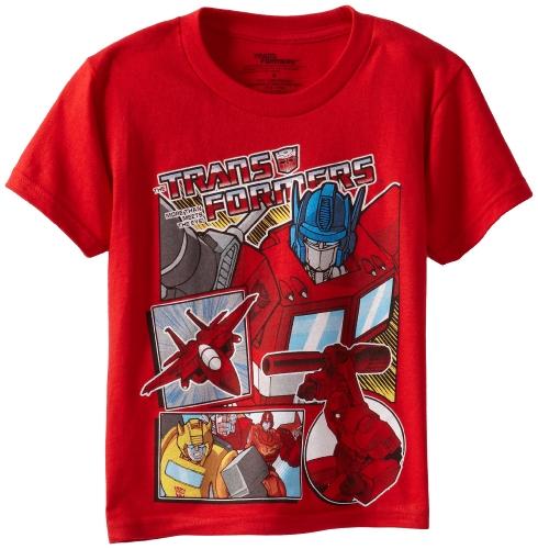 Transformers Boys Short Sleeve T-Shirt